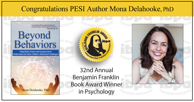 Mona Delahooke PhD IBPA Winner Psychology